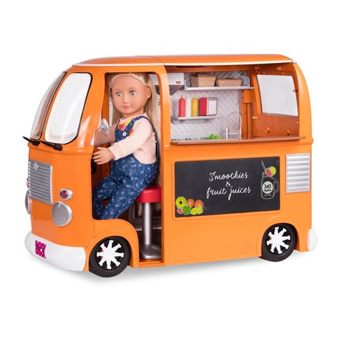 """Our Generation Grill to Go Food Truck Deluxe Accessory Set for 18"""" Dolls - image 1 of 4"""