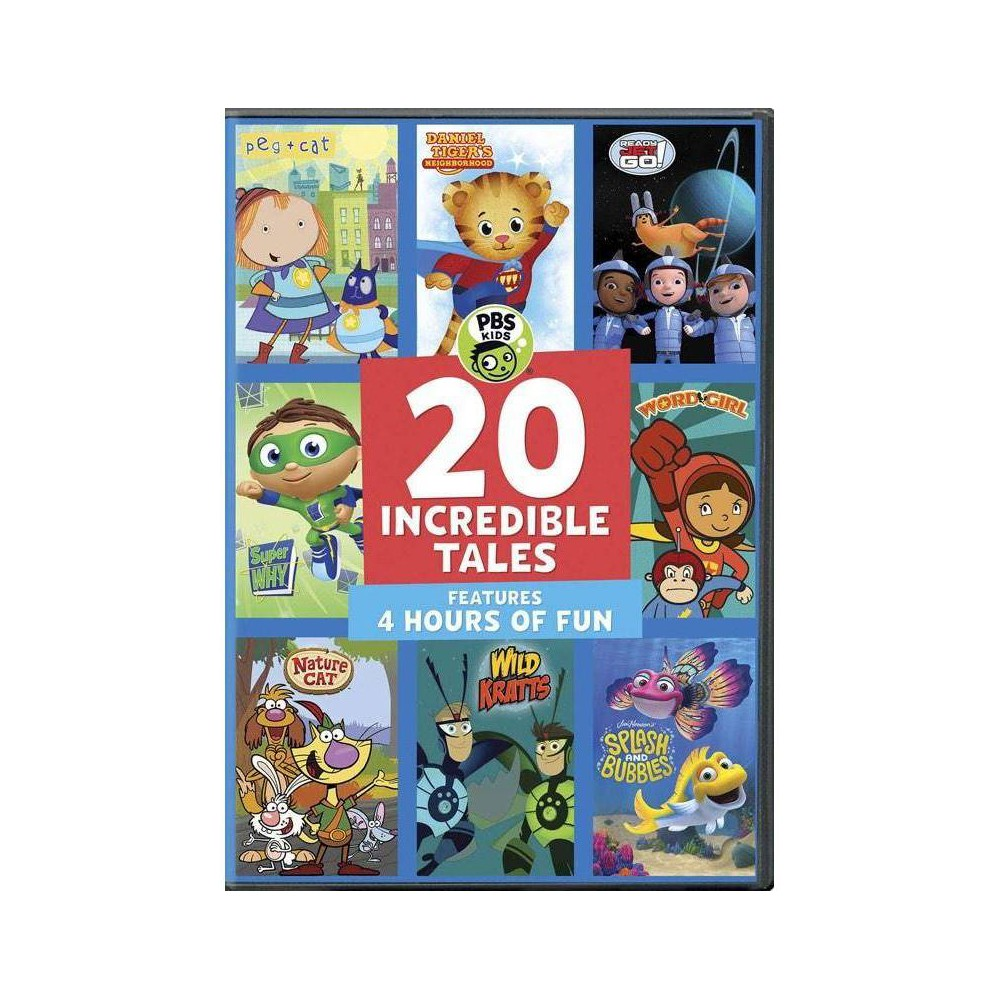 PBS Kids: 20 Incredible Kids (DVD) Top