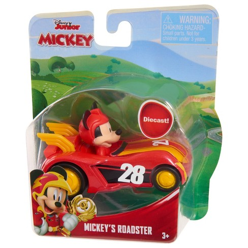 Disney Mickey Mouse Die Cast Vehicle - Mickey's Roadster - image 1 of 1