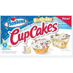 Hostess Birthday Cupcakes - 8ct/13.1oz.