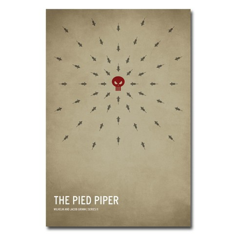 'The Pied Piper' by Christian Jackson Ready to Hang Canvas Wall Art - image 1 of 3