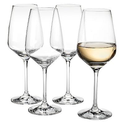 Vivo Voice by Villeroy & Boch Group Crystal Stemware 12oz 4pk White Wine Glasses