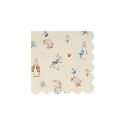 Meri Meri Peter Rabbit™ & Friends Small Napkins