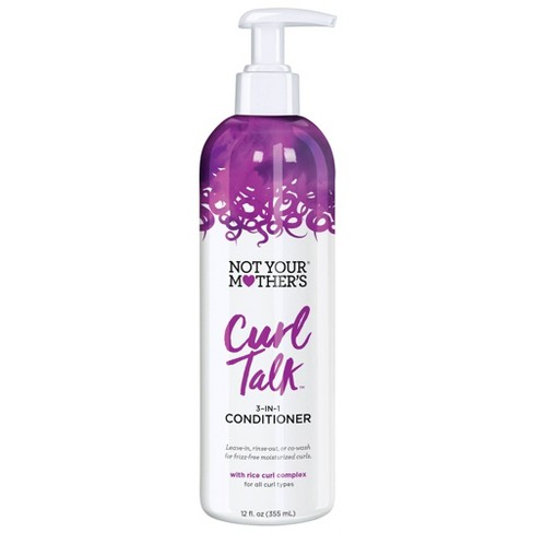Not Your Mother's Curl Talk 3-in-1 Conditioner - 12 fl oz - image 1 of 4