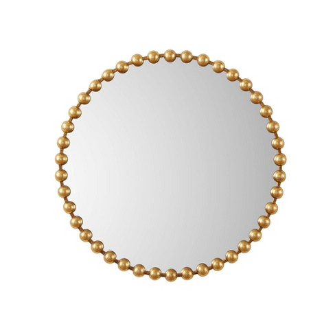 "36"" x 36"" Marlowe Decorative Wall Mirror Gold - image 1 of 3"