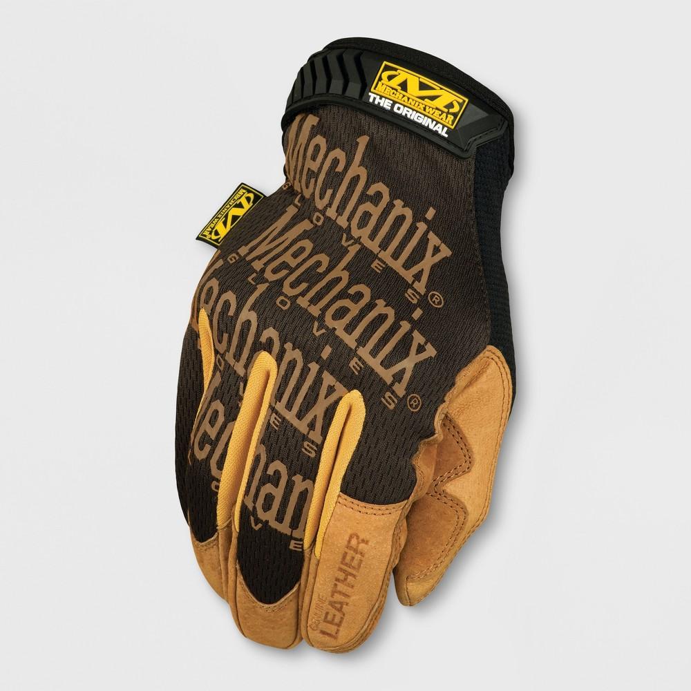 Image of Leather Original Gardening Gloves Light Brown XL - Mechanix Wear, Adult Unisex