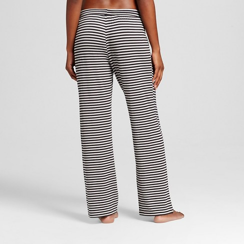 70f4ec8e1334 Women s Total Comfort Pajama Pants Gray Stripe M - Gilligan   O Malley™    Target