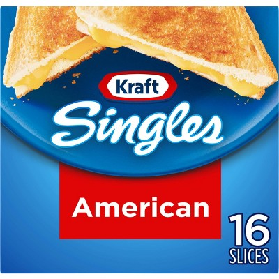 Kraft Singles American Cheese Slices - 16ct