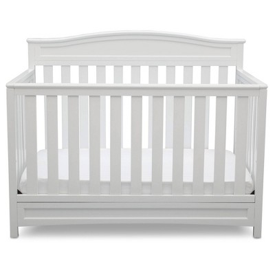 Delta Children Emery 4-in-1 Convertible Crib - White