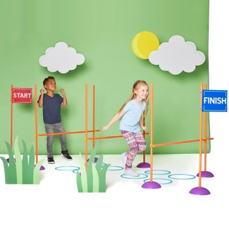 Antsy Pants™ Obstacle Course - 40pc