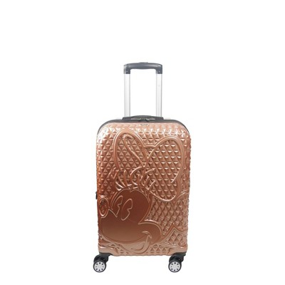 FUL Disney Minnie Mouse 21'' Hardside Suitcase - Rose Gold