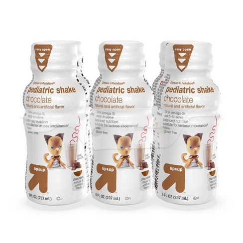 Pediatric Shake, Chocolate - 8 fl oz (6pk) - Up&Up™ - image 1 of 4