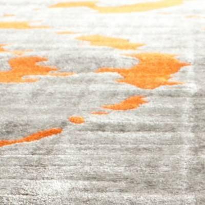 Light Gray/Orange