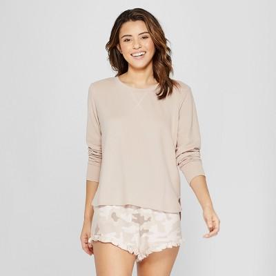 6803f1cc3d7 Women s Camo Print 3pc Lounge Pajama Set – Xhilaration™ Tan XS ...