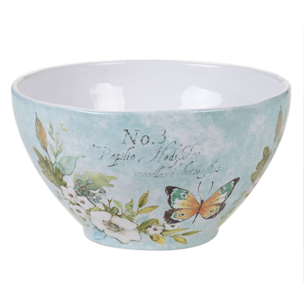 Image of 104oz Earthenware Nature Garden Serving Bowl - Certified International