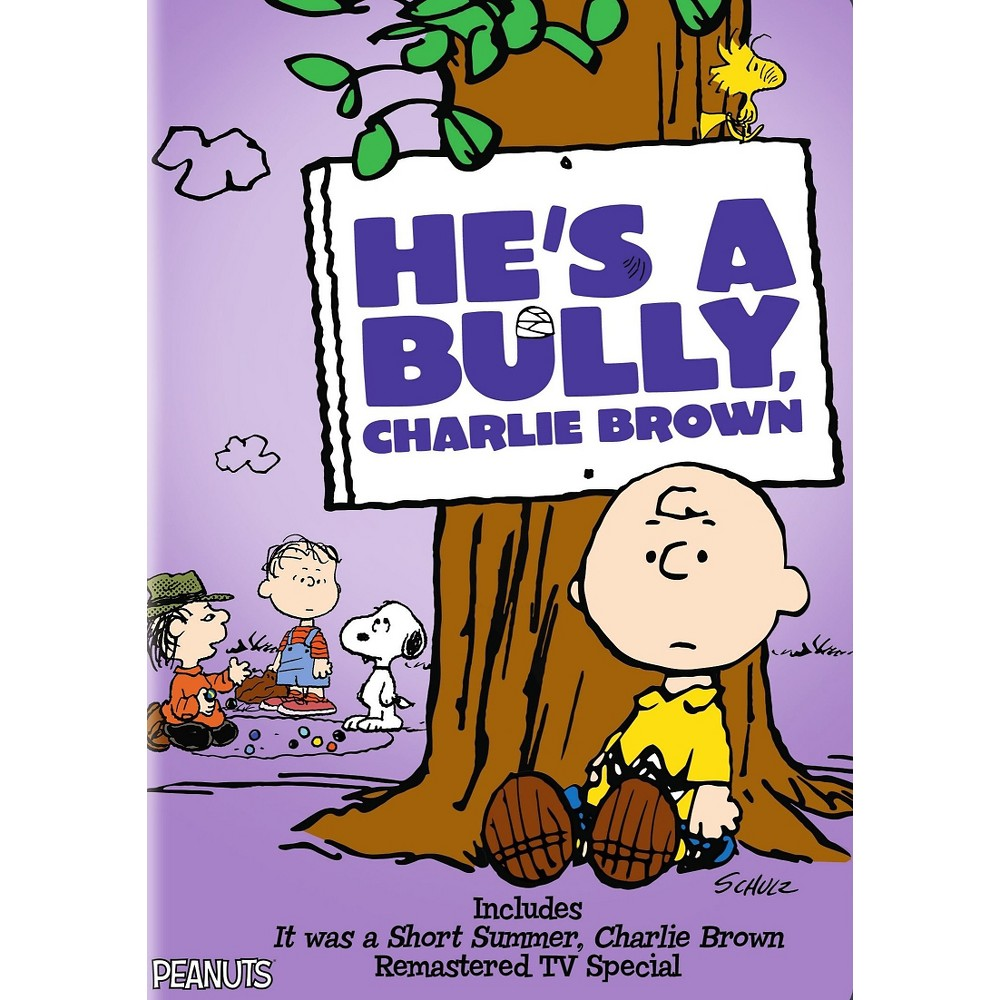 He's A Bully Charlie Brown (Dvd)