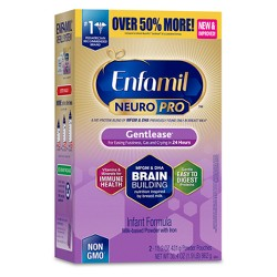 Enfamil NeuroPro Gentlease Infant Formula Powder - 30.4oz