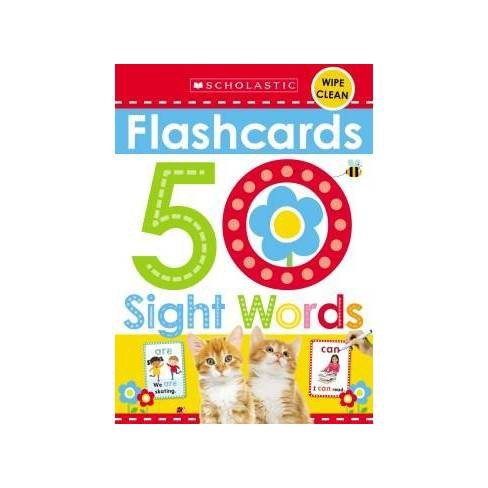 50 Sight Words Early Learners - image 1 of 1