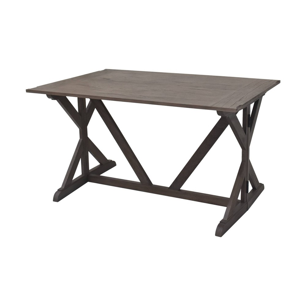 Image of Louise Dining Table Gray - Hopper Studio