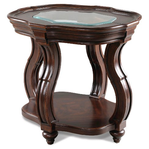 Isabelle Oval End Table Cherry - Magnussen Home - image 1 of 1