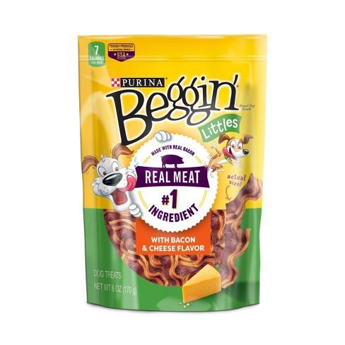 Purina Beggin Littles Bacon & Cheese Flavor 6oz - image 1 of 4