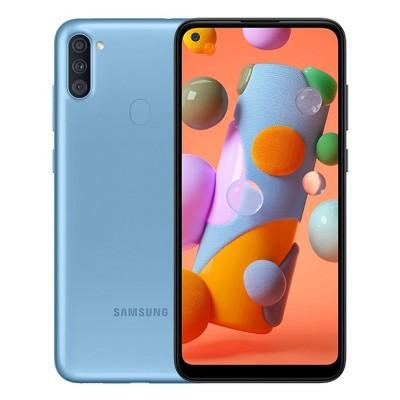 Samsung Galaxy A11 32GB ROM 2GB Ram A115F/DS Dual Sim 4G LTE GSM International Model Unlocked Smartphone with 64gb SD card