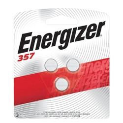 Energizer 357 Silver Oxide Batteries 3pk
