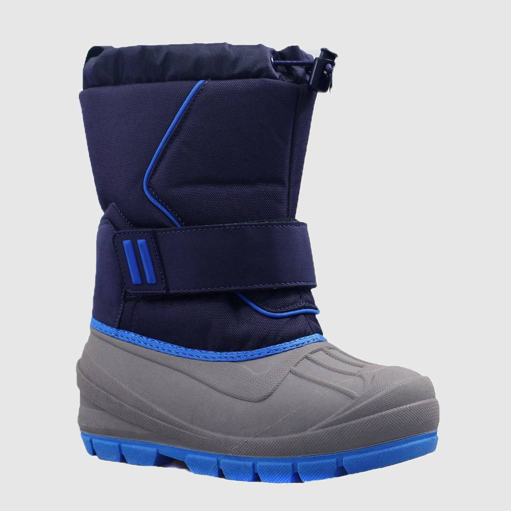 Image of Boys' Cordie Winter Boots - Cat & Jack Blue 1