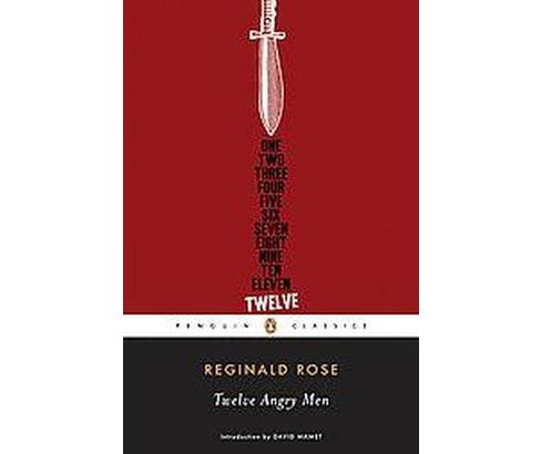 Twelve Angry Men (Paperback) (Reginald Rose) - image 1 of 1