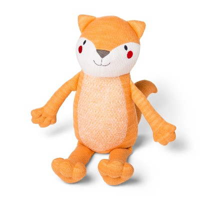 Knit Plush Fox - Cloud Island™ Orange