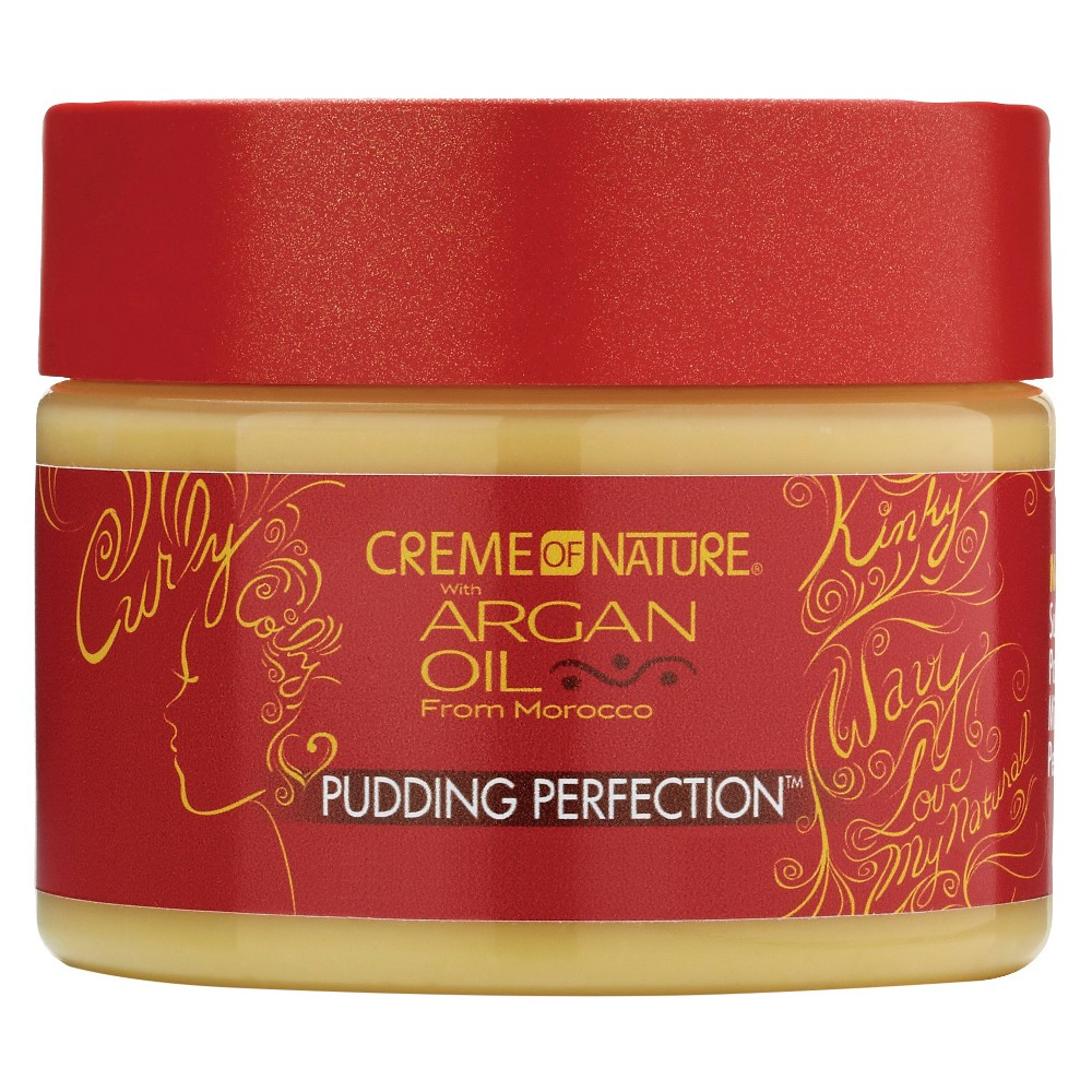 Image of Creme Of Nature Argan Oil Pudding Perfection - 11.5oz