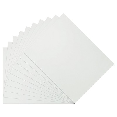 """10pk 28"""" x 22"""" Poster Board White - up & up™"""