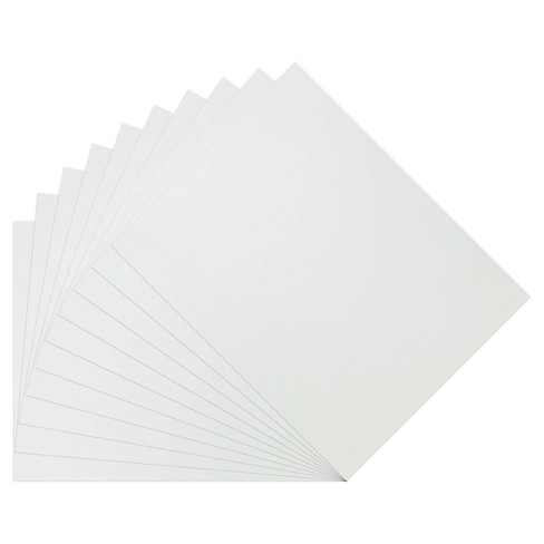 """10pk 28"""" x 22"""" Poster Board White - Up&Up™ - image 1 of 1"""