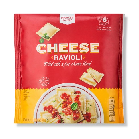 Square Cheese Frozen Ravioli - 25oz - Market Pantry™ - image 1 of 1