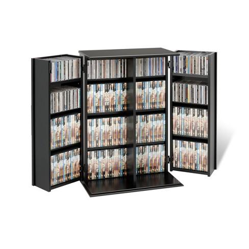Locking Media Storage Cabinet With Shaker Doors Prepac Target