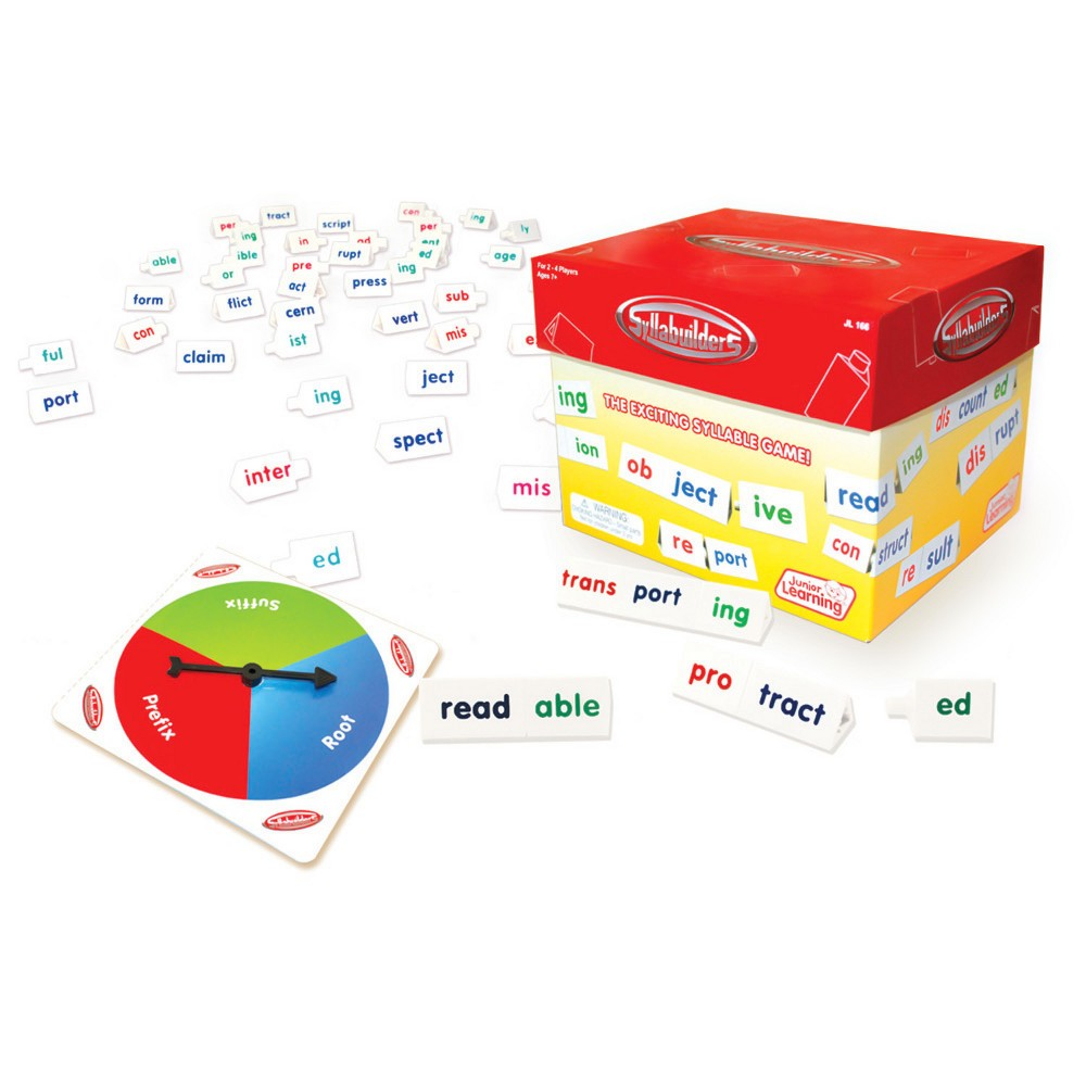 Image of Junior Learning Syllabuilders - The Syllable Game