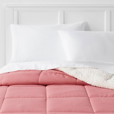 Sherpa Washed Microfiber Comforter - Room Essentials™