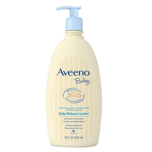 Aveeno Baby Daily Moisture Lotion - 18oz - image 1 of 3