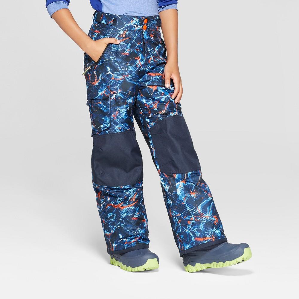 Boys' Printed Snow Pants - C9 Champion Navy M, Blue