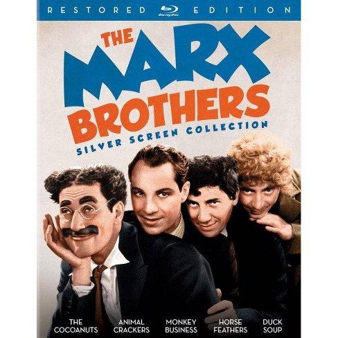 The Marx Brothers Silver Screen Collection (Blu-ray)(2016) - image 1 of 1
