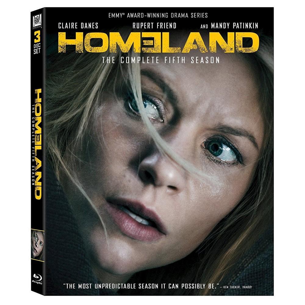 Homeland Season 5 Blu Ray