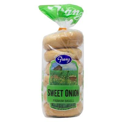 New York Bagel Boys Onion Bagels - 18oz/6ct