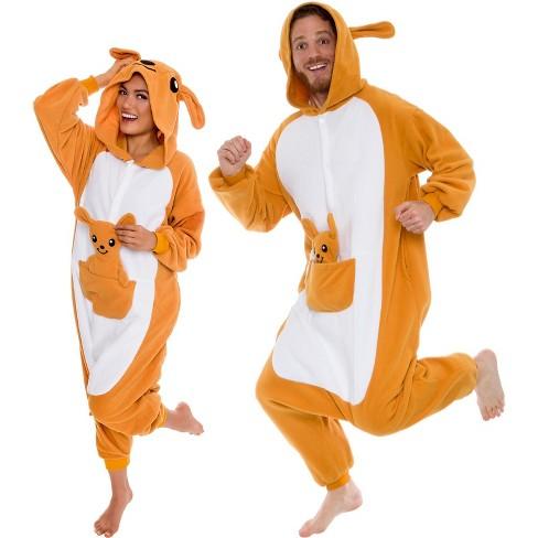 Funziez! Kangaroo Adult Unisex Novelty Union Suit - image 1 of 4