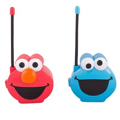 Sesame Street Molded Walkie Talkies, Elmo & Cookie Monster