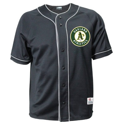 MLB Oakland Athletics Men's Button-Down Jersey