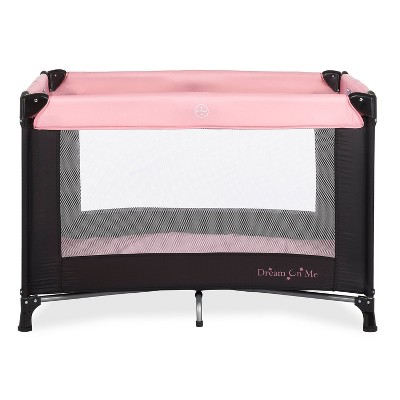 Dream On Me Nest Play Yard - Pink & Black