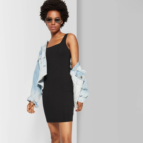 Women's Strappy Square Neck Knit Mini Dress - Wild Fable™ - image 1 of 3