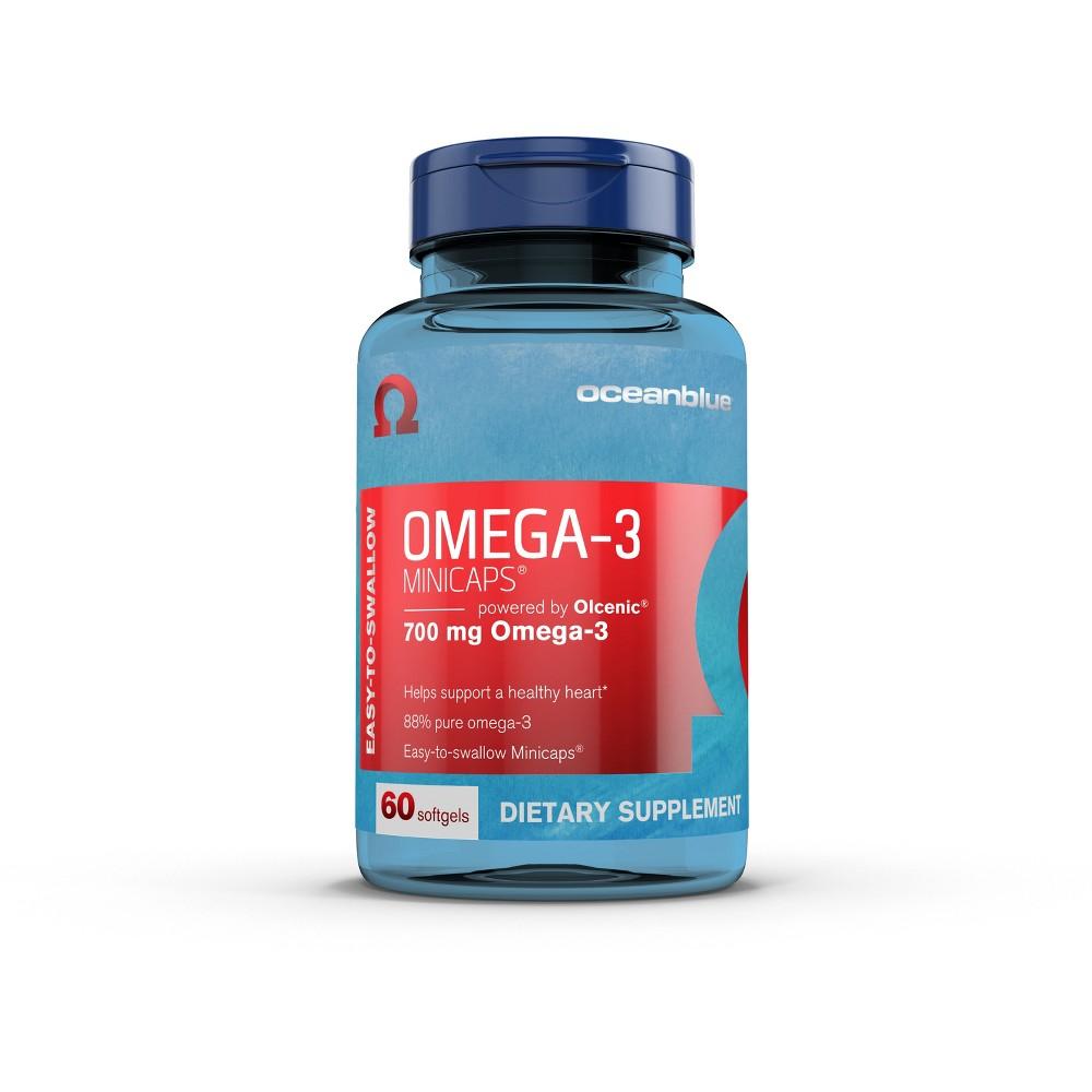 Oceanblue Omega-3 Minicap Softgels - 60ct