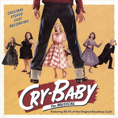 Original broadway ca - Cry baby (Ocr) (CD) - image 1 of 1
