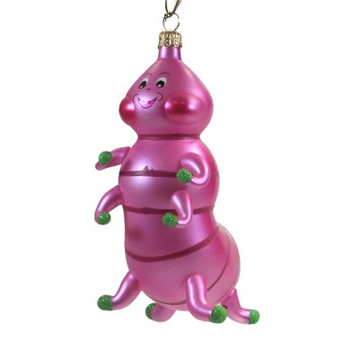 "Italian Ornaments 6.0"" Caterpillar. Ornament Bug Worm  -  Tree Ornaments"